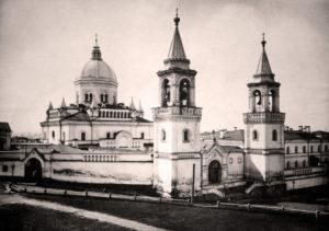 Фото Ивановского монастыря из альбома Н.А. Найдёнова, 1886 год