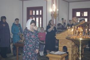 Служба в церкви фото.