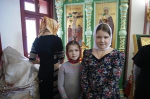 Прихожане Сергиевского храма.