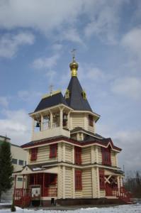 Храм преподобного Сергия Радонежского. Современный вид.