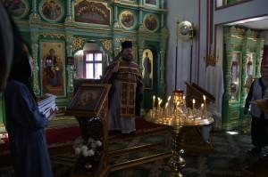 Проповедь в храме.