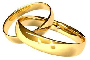 Обручальные кольца - символ брака